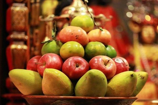 mâm trái cây